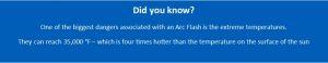 Arc Flash fact